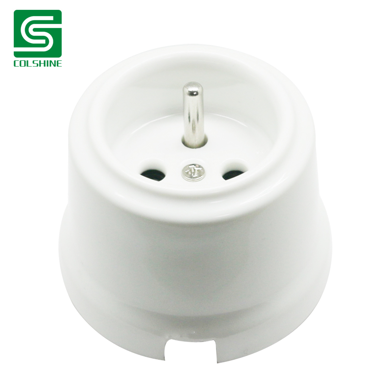Buy French Wall Socket  Ceramic Switch  Ceramic Socket